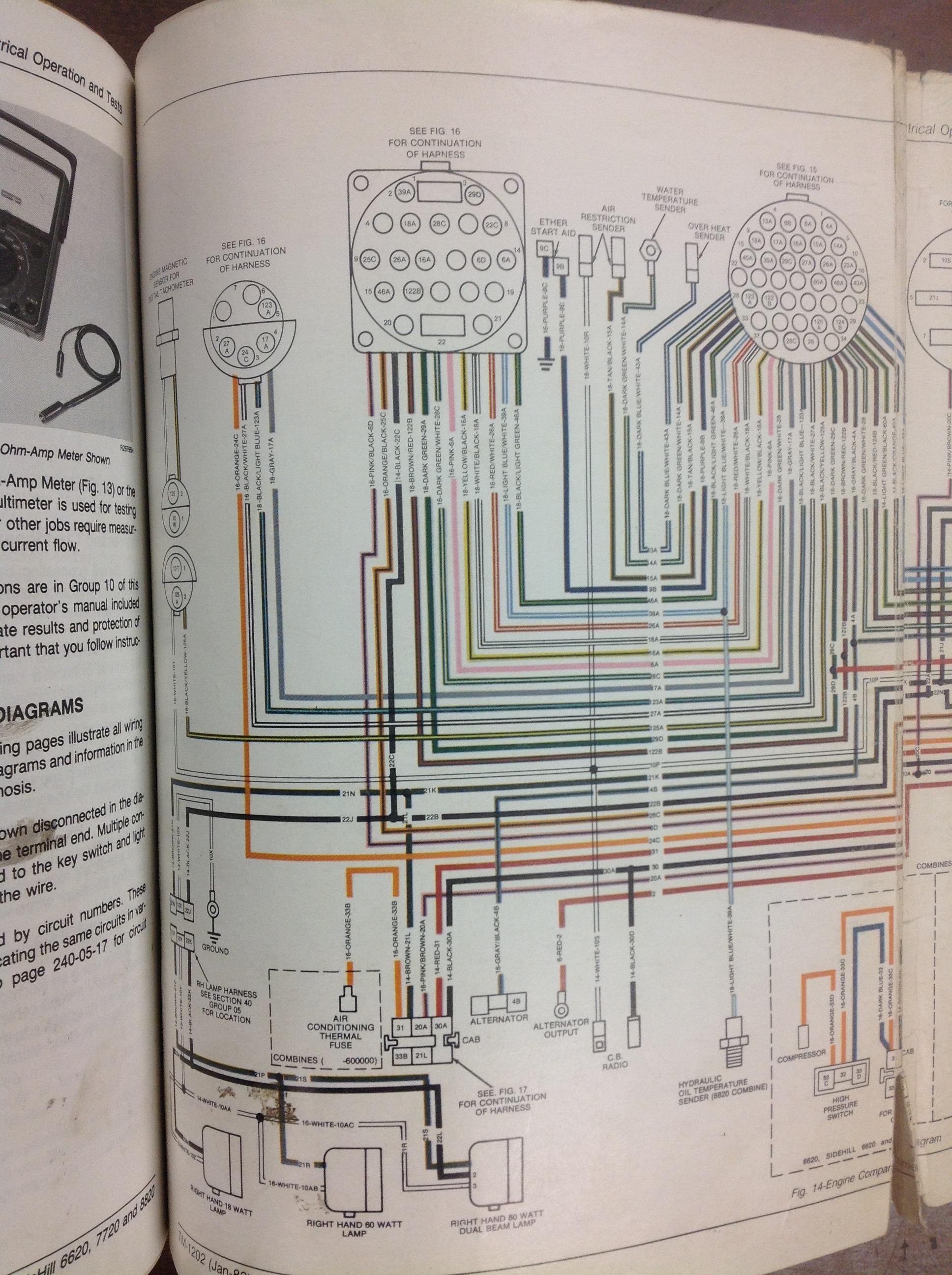 6620 digital tach reads 000 | The Combine Forum | John Deere Tach Wiring Diagram |  | The Combine Forum