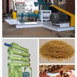 sinking floating fish feed pellet mill