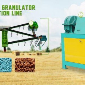 Fertilizer Granulator Machine used in compound fertilizer, organic fertilizer pelleting. https://www.organic-fertilizer-machinery.com/fertilizer-granu